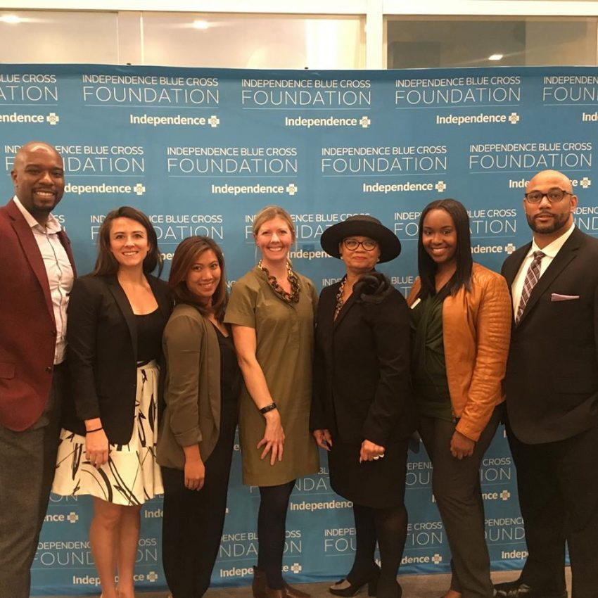 Felicia D  Harris Recognized by Independence Blue Cross Foundation